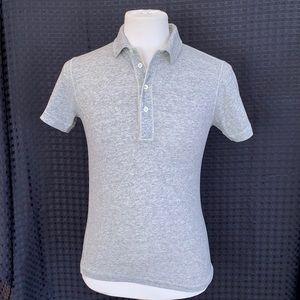 Billy Reid Super Soft Men's Polo Shirt. Small